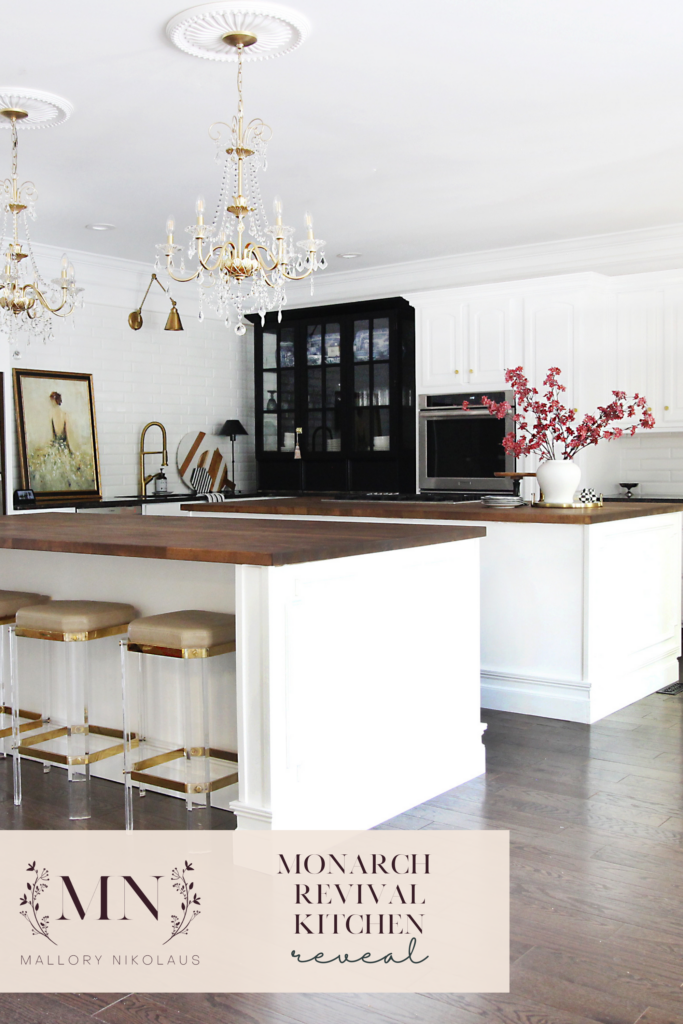 PIN - Monarch Revival Kitchen Makeover