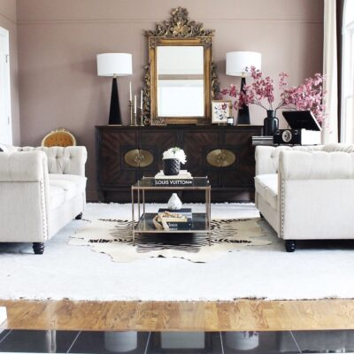 Monarch Revival: Formal Living Room Reveal